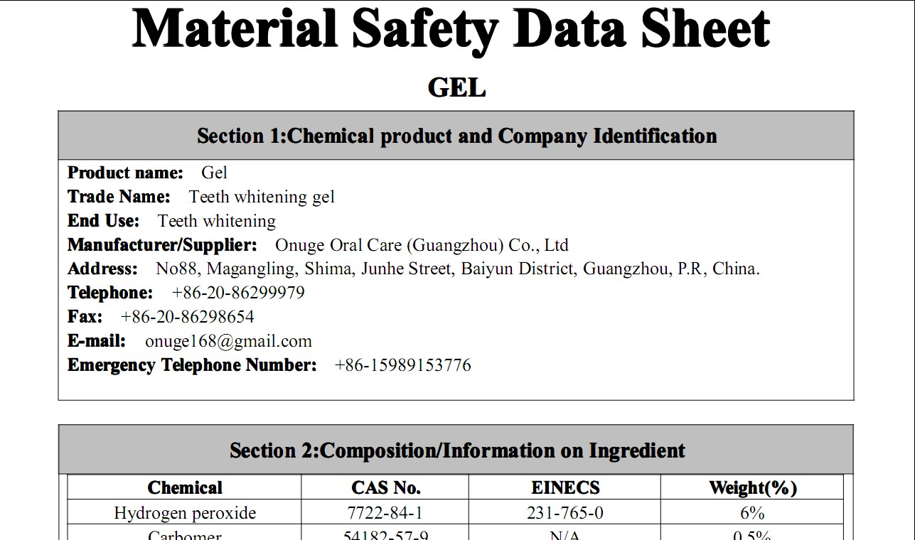 materials safety data sheet Msds date of preparation: 8/25/15 manufacturer: wd-40 company address:  1061 cudahy place (92110) po box 80607 san diego, california, usa.