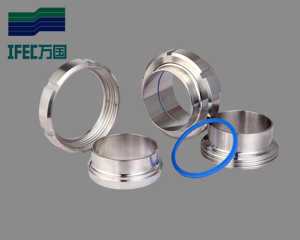 Dairy Pipe Fittings Pipe Fitting Din Iso Sms Union