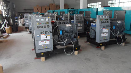 Factory Power Generator Jiuan Power Generator Factory