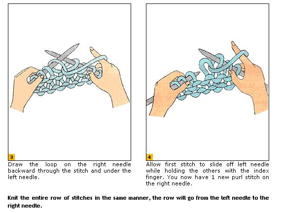 Knitting Purl Stitch Diagram : Purl stitch help, please! : knitting