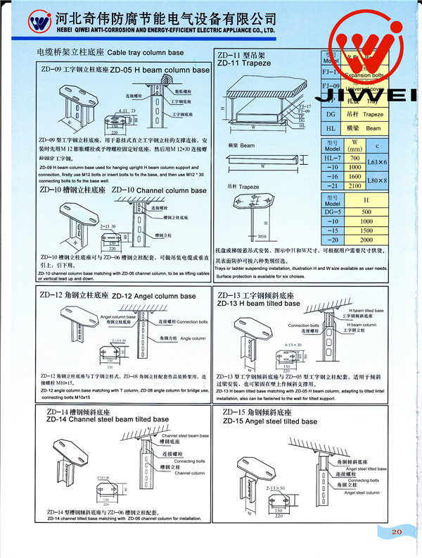 Cable Tray Specification Cable Tray Wire/cable