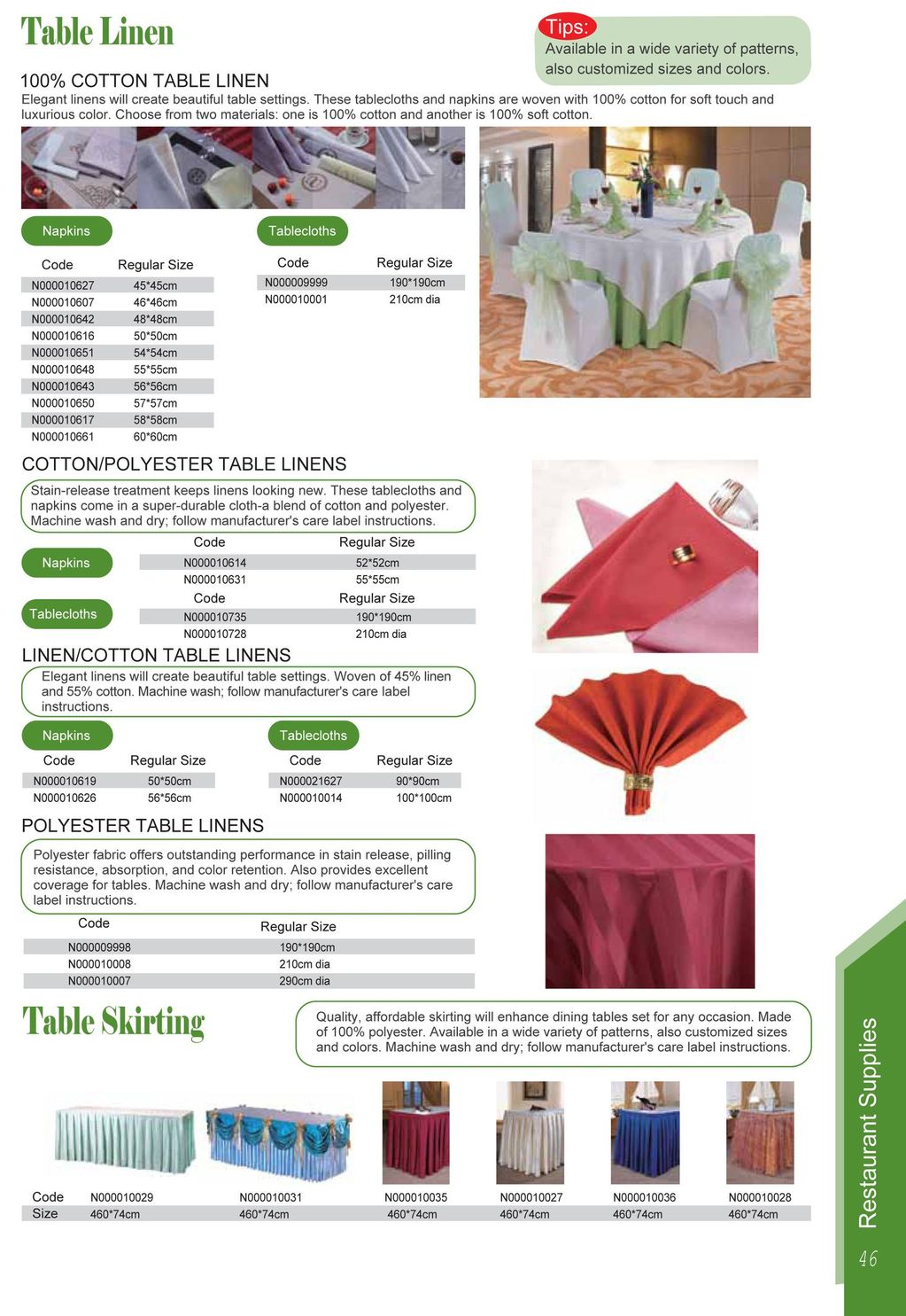 Table Linens Virtual Design | Interior Decorating Tips