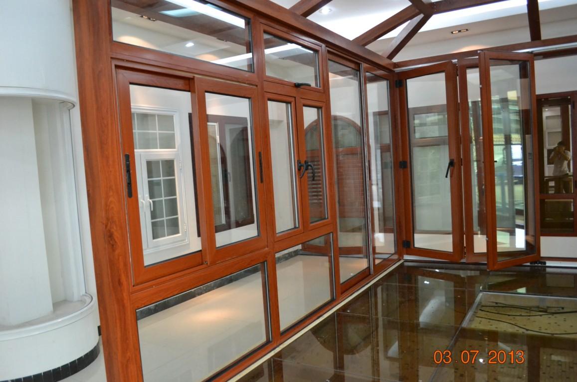 Pvc Windows And Doors : Showroom foshan wanjia window and door co ltd