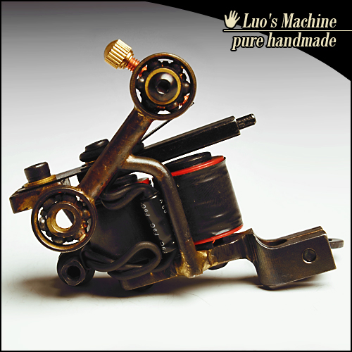 Free Shipping Professional Tattoo Machine Gun 10 wraps coil