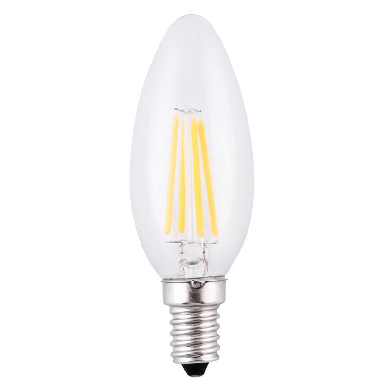 2w led filament candle bulb shenzhen century lighting co ltd. Black Bedroom Furniture Sets. Home Design Ideas