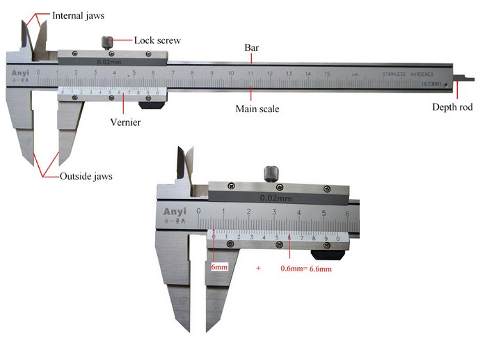 How to Read a Vernier Caliper [Nov 16,2010]