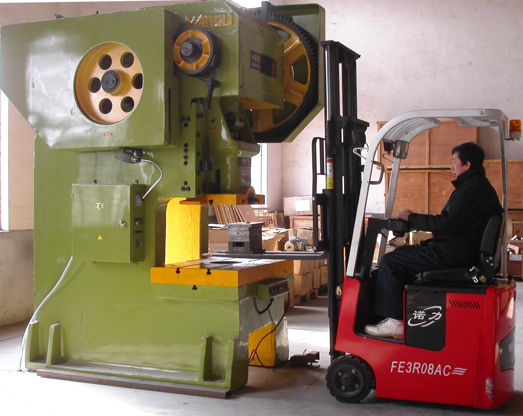press punch machine