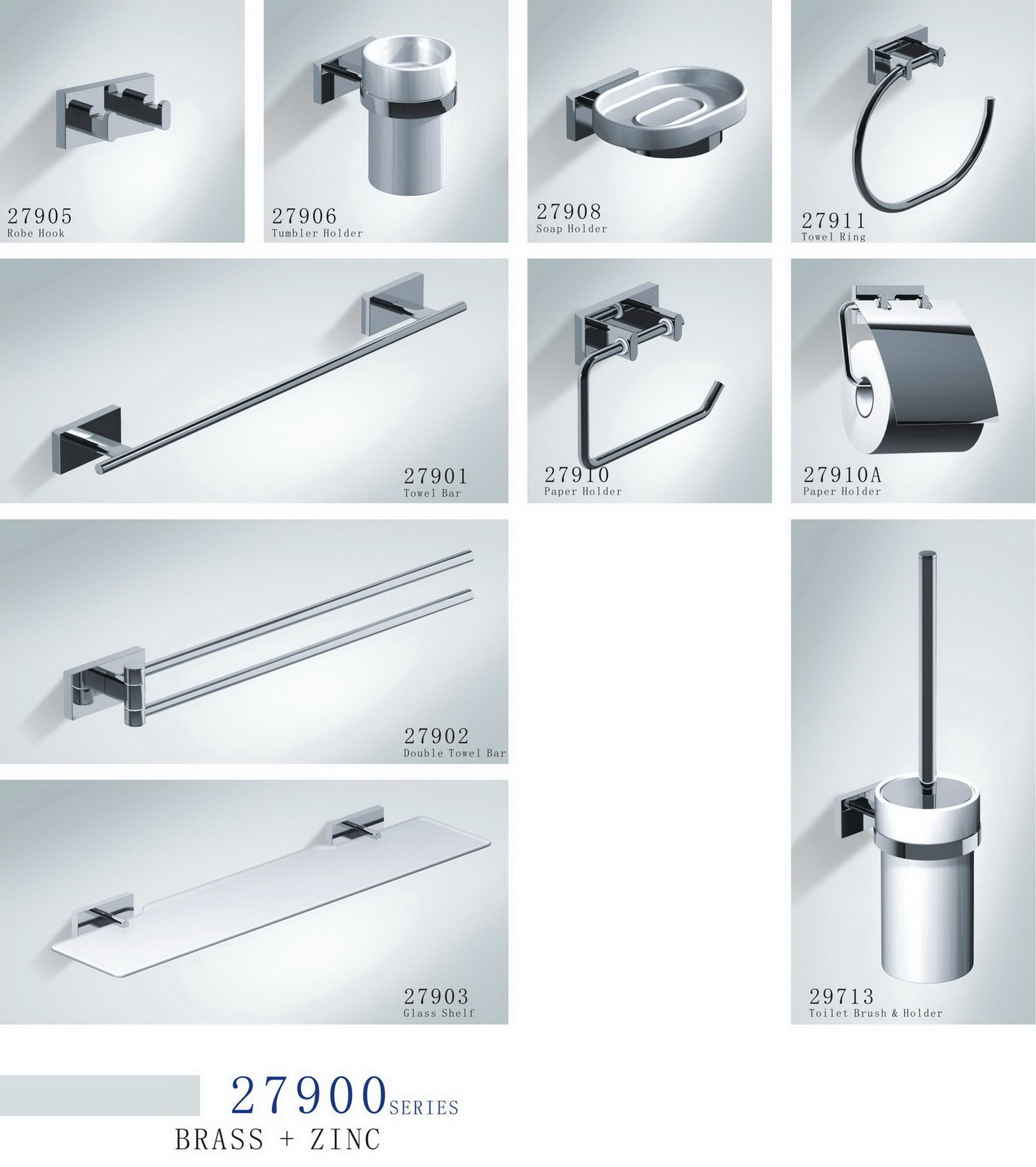 Bathroom Accessories 27900 Series - Wenzhou Range Mova Hardware Co