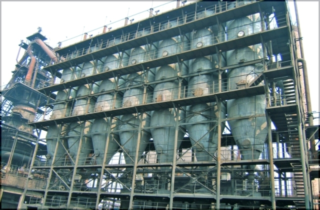 Fiberglass Filter Bags Used in Blast Furnace