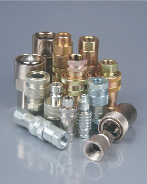Hydraulic quick couplings coupler