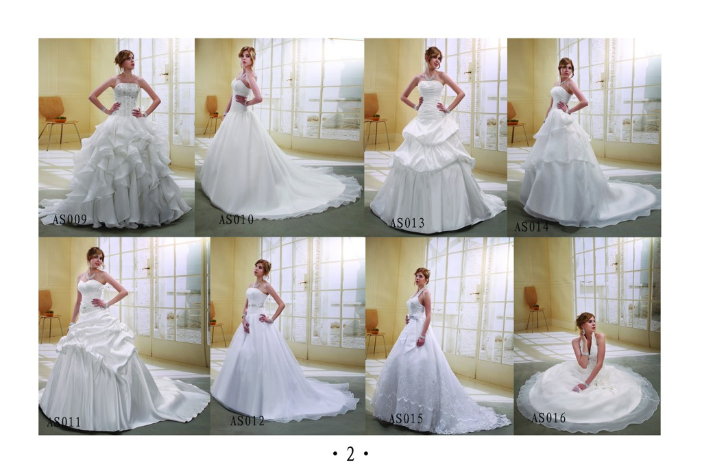 catalog of our owner design wedding dresses If you can order one of our