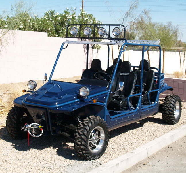 1100cc 4X4 Buggy with 4 seater