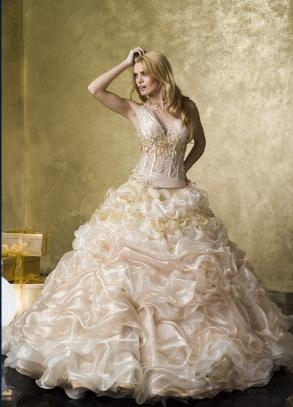 Bridal gown style