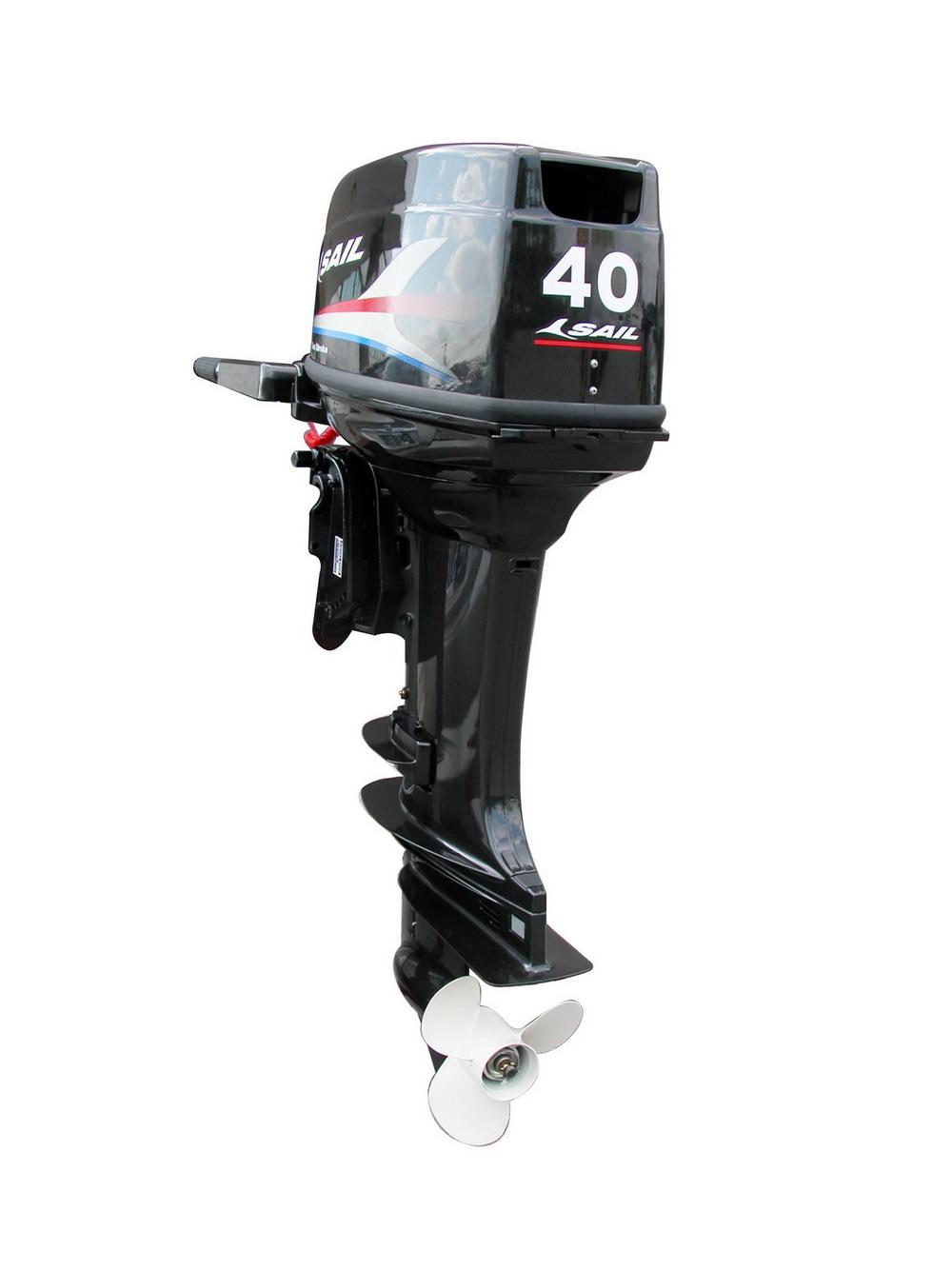 Outboard motor 2 stroke 40hp jiangsu tiger yacht Two stroke outboard motors