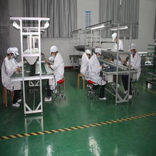 Assembly Line Of Solar Panel Jiangsu Xiandai Lighting