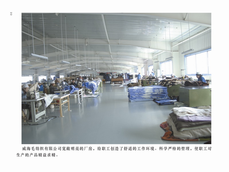 Weihai Woollen Fabric Group Co., Ltd.