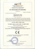 EC declaration of conformity of Falling number tester