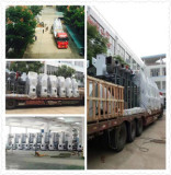 Installation and commissioning of large scale machine back to company