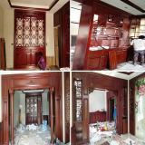 solid wood doors sliding wooden doors wood frame sill
