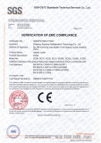 CE certificate for display cooler;