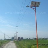solar street led light in jiaxing China