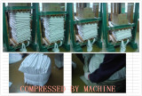 Step5. Compress by machine Packing