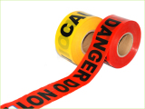 Always show in USA movie barrier tape warning tape caution tape danger tape