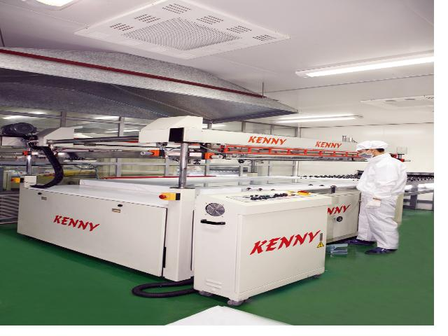 Printing production line