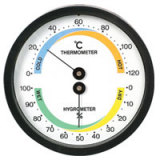 House Use Thermometers and Hygrometer SP-X-4WS(BW)