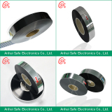 Metallized film for capacitors used