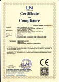 CE certificate of HD-CVI camera
