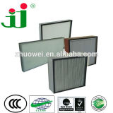 Deep Pleat separator HEPA Filter