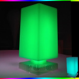 New! Square table lamp color change lamp rechargeable lamp