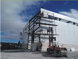Project: Algeria Steel Structure Warehouse