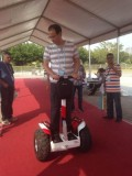 Wind Rover Electric Balance Scooter Held in 116th Canton Fair