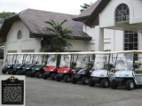 Suzhou Eagle Golf Cart in Iloilo Golf Club of Philippines