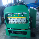 Roofing tile curving machine