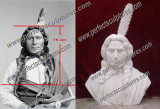 Custom Indian Bust Statue in USA (80cm High Large Bust Statue)