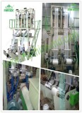 Single Screw Double Head Film Blowing Machine