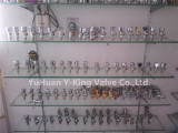 Brass Angle Valve Sample Room