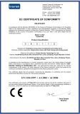 CE Certificate for 603 Type Door Closer