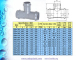 PVC Pressure Pipe Fitting for Water Supply DIN Standard Pn10