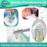 Test for diaper raw materials