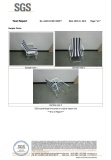 EN581 folding chair test report with picture