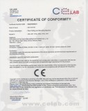 CE Certificate of Pipe Cutting and Beveling Machine