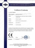 Certification for Hydraulic compactor