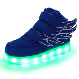 Children wings light shoes with 2 years warranty
