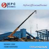 Lifting Steel Structure for Circulating Water Pump House
