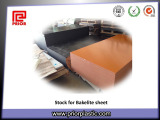 Stock for Bakelite sheet