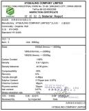 spiral wound gasket material test report